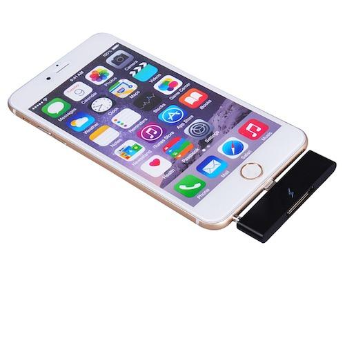 Billede af iPhone 4 til iPhone 6 / 6S adapter m/lyd