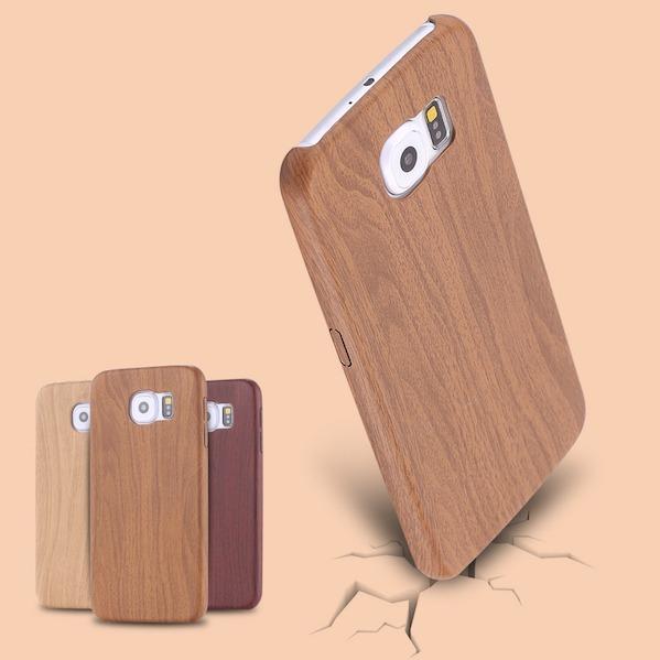 Billede af Bacchus Træ Cover til Samsung Galaxy S6 Edge