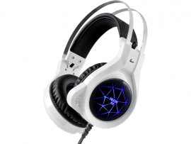 N1 Gaming Headset med Led-lys til PC