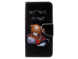 Angry Bear Flip Cover til iPhone XS Max