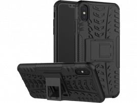 Armor TPU Cover m. kickstand til iPhone XS Max