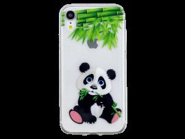 Panda TPU Cover til iPhone XR