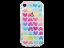 Hjerte TPU Cover til iPhone XR