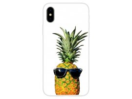 Pineapple TPU Cover til iPhone X / XS
