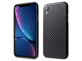 Carbon Fiber Cover til iPhone XR