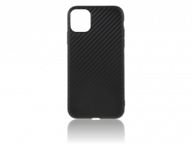Carbon Fiber TPU Cover til iPhone 11