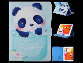 Panda Flip Cover til iPad Air 2 (A1566, A1567)