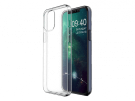 Transparent TPU Cover til iPhone 12 Pro Max