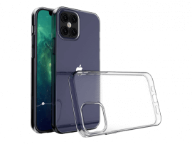 Transparent TPU Cover til iPhone 12 / 12 Pro