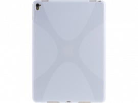 "Cross transparent TPU cover til iPad Pro 9,7"""