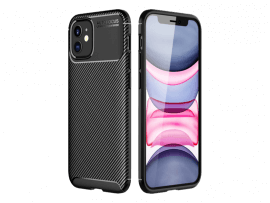 Carbon Fiber Cover til iPhone 12 Mini