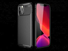 Carbon Fiber TPU Cover til iPhone 12 Pro Max