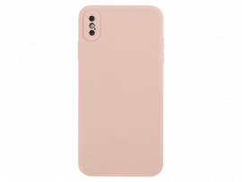 Matte Silicone Cover til iPhone X / XS
