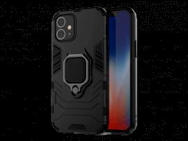 Hybrid Cover m. Kickstand til iPhone 12 Mini