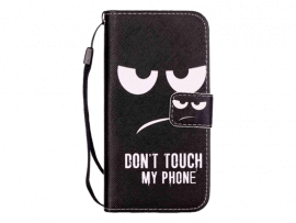 Don't Touch My Phone Flip Cover til iPhone 7 / 8 / SE (2020)