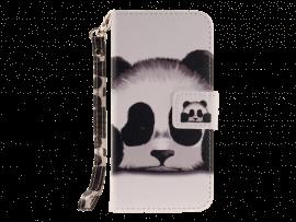 Panda Flip Cover til iPhone 7 / 8 / SE (2020)