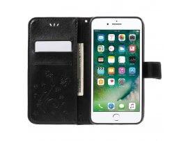 Orax Læder Flip Cover Til iPhone 7 Plus / 8 Plus Med Kortholder