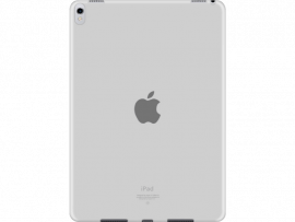 "Transparent TPU cover til iPad Pro 10,5"""