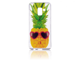 Ananas TPU Cover til Samsung Galaxy A8 (2018)