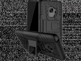 Azul TPU Hybrid Cover til Samsung Galaxy S9
