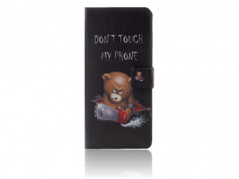 Angry Bear Flip Cover til Samsung Galaxy Note 9