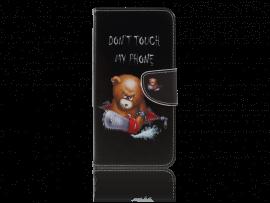 Angry Bear Flip Cover til Samsung Galaxy A7 (2018)