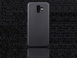 Carbon Fiber TPU Cover til Samsung Galaxy J6+