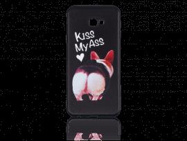 Kiss My Ass TPU Cover til Samsung Galaxy J4+