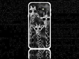 Giraffe TPU Cover til Samsung Galaxy J4+