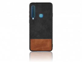 TPU Cover m. Læder til Samsung Galaxy A9 (2018)