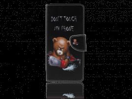 Angry Bear Flip Cover til Samsung Galaxy J6+