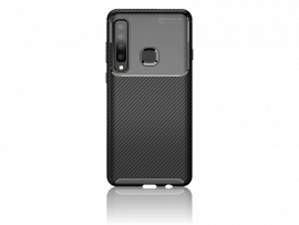 Carbon Fiber TPU Cover til Samsung Galaxy A9 (2018)