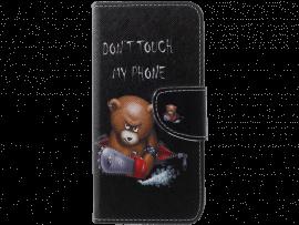 Angry Bear Flip Cover til Samsung Galaxy S10e