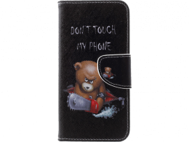 Angry Bear Flip Cover til Samsung Galaxy S10 Plus