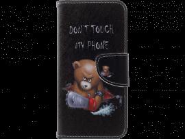 Angry Bear Flip Cover til Samsung Galaxy S10