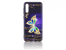 Butterfly TPU Cover til Samsung Galaxy A30s & A50