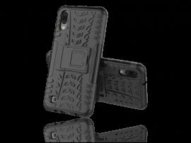 Armor TPU Cover m. Kickstand til Samsung Galaxy A10