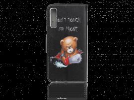Angry Bear Flip Cover til Samsung Galaxy A70