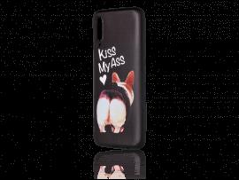 Kiss My Ass TPU Cover til Samsung Galaxy A70