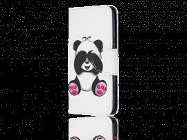 Panda Flip Cover til Samsung Galaxy A20e