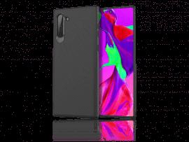 Carbon Fiber TPU Cover til Samsung Galaxy Note 10