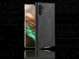 Crocodile TPU Cover i PU Læder til Samsung Galaxy Note 10