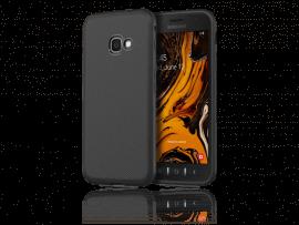 Carbon Fiber TPU Cover til Samsung Galaxy Xcover 4 / 4s