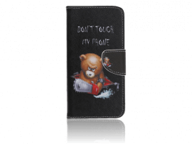 Angry Bear Flip Cover til Samsung Galaxy Note 10