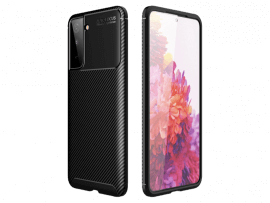 Carbon TPU Cover til Samsung Galaxy S21 Plus