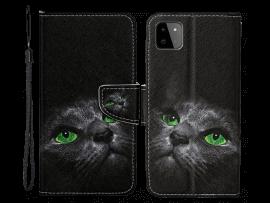 Cat Eyes Flip Cover til Samsung Galaxy A22 5G