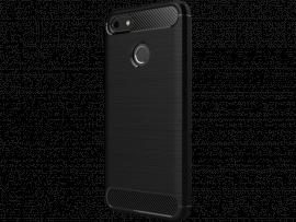 Carbon fiber TPU cover til Huawei P9 Lite Mini