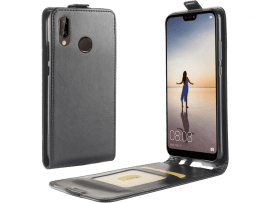Sarandi flipcover i PU læder til Huawei P20 Lite
