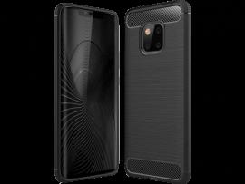 Carbon Fiber TPU Cover til Huawei Mate 20 Pro