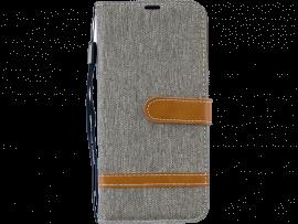 Cendre Flip Cover m. Læderdetaljer til Huawei P Smart (2019)